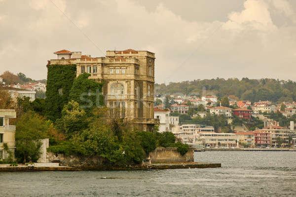 Foto stock: Paisagem · panorâmico · ver · mar · histórico · istambul