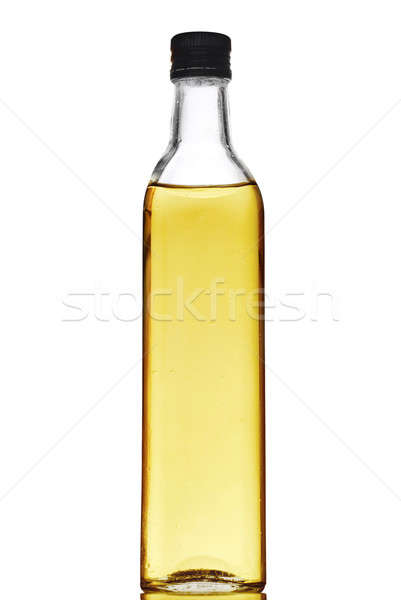 Olive oil bottle isolated on white  Stock photo © artjazz