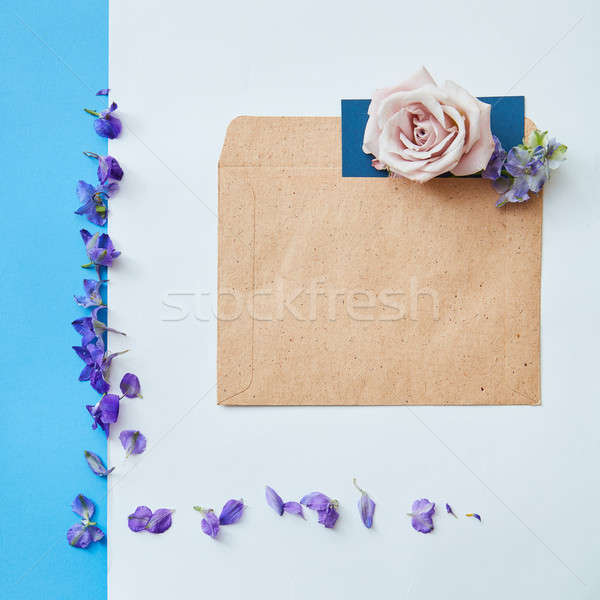 Copy space for expressing emotions Stock photo © artjazz