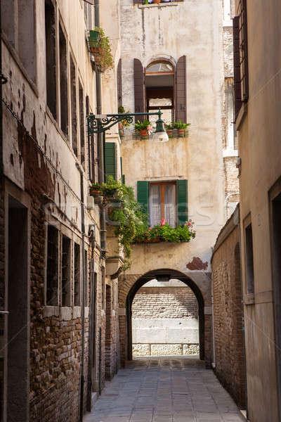 Street in the town Stock photo © artjazz