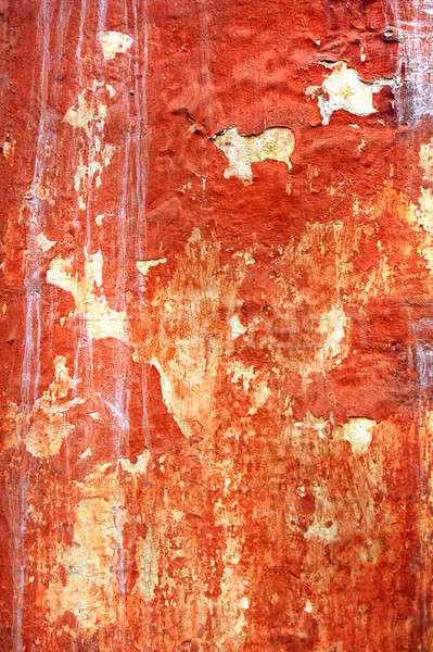 texture of the old stucco wall with cracks  Stock photo © artjazz