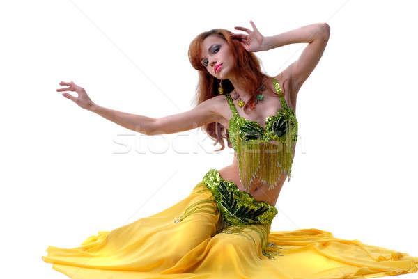 Geen beschrijving meisje lichaam dansen vrouwelijke Stockfoto © artjazz