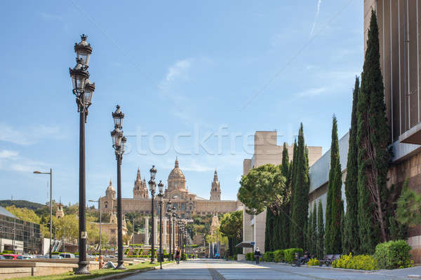 National museum of Catalan Stock photo © artjazz