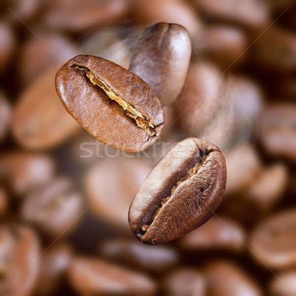 падение кофе пар продовольствие кофе Сток-фото © artjazz