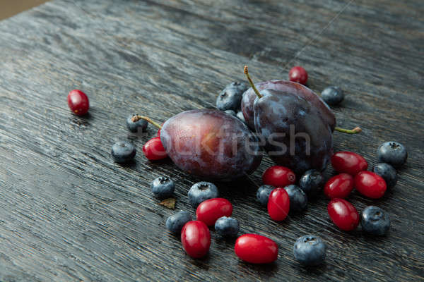 juicy ripe berries Stock photo © artjazz