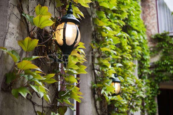 old street lamp Stock photo © artjazz