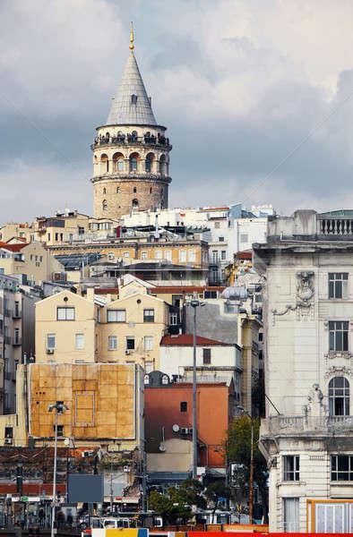 башни Стамбуле Турция расстояние дома здании Сток-фото © artjazz