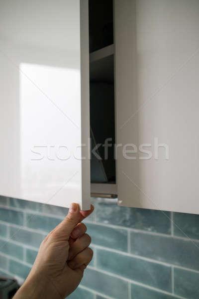 стороны современных подвесной кухне Сток-фото © artjazz