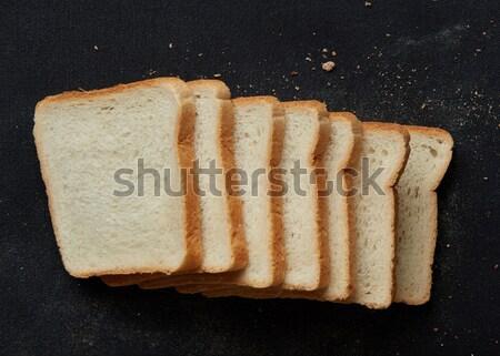 White bun for eating Stock photo © artjazz