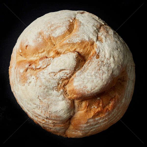 Fresh loaf of bread Stock photo © artjazz
