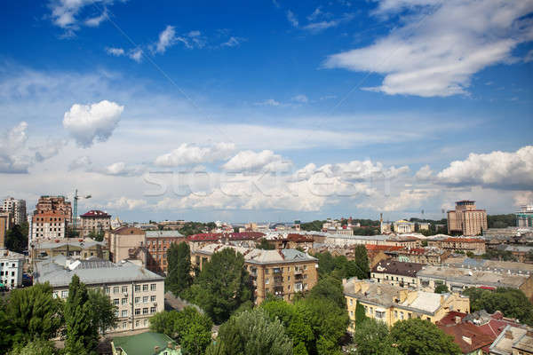 Kyiv center cityscape Stock photo © artjazz