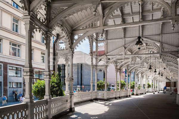Market Colonnade,Czech republic Stock photo © artjazz