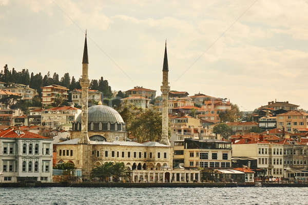 美しい パノラマ 表示 市 トルコ イスタンブール ストックフォト © artjazz