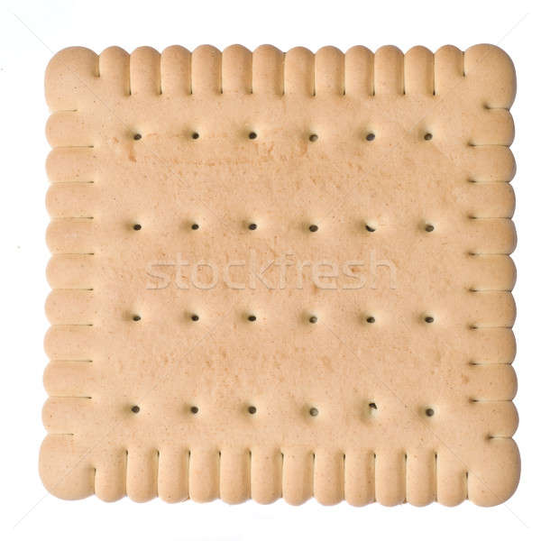 biscuit isolated on white Stock photo © artjazz
