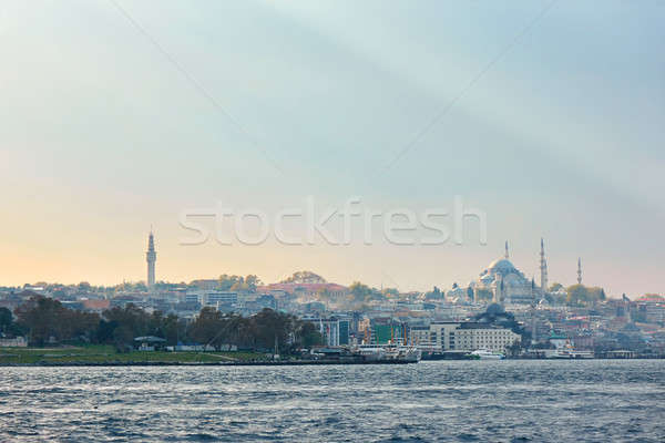 Istanbul the capital of Turkey. Stock photo © artjazz