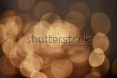 golden christmas lights background Stock photo © artjazz