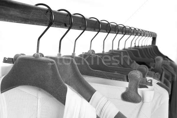Roupa armazenar moda abstrato projeto fundo Foto stock © artjazz