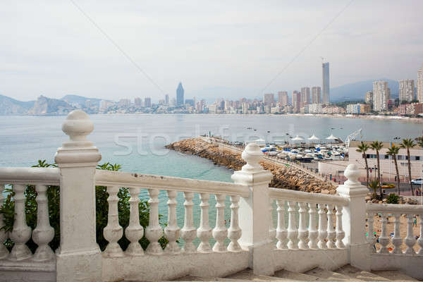 Benidorm balcon del Mediterraneo Stock photo © artjazz