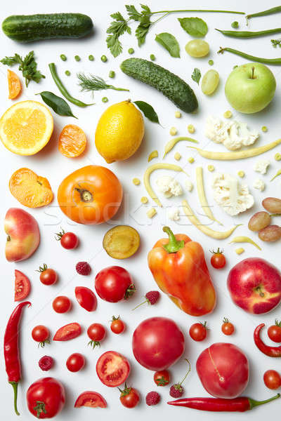 Healthy eating background Stock photo © artjazz