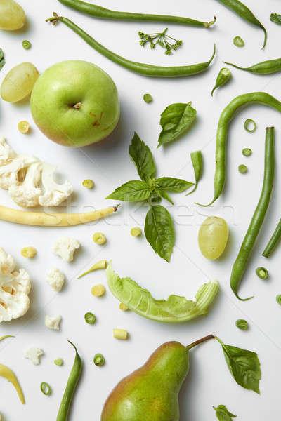 Stok fotoğraf: Diyet · sağlıklı · gıda · taze · yeşil · sebze