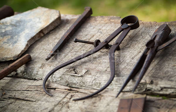 Carpentry tools Stock photo © Artlover