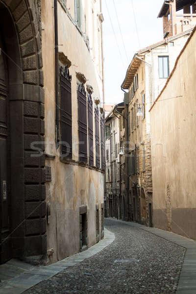 Street in Bergamo Stock photo © Artlover