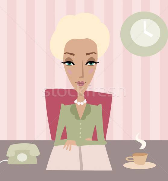 Business lady Stock photo © Artlover