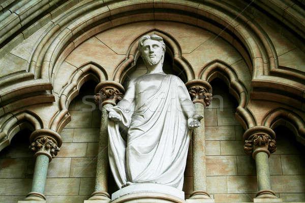 Christ statue Stock photo © Artlover