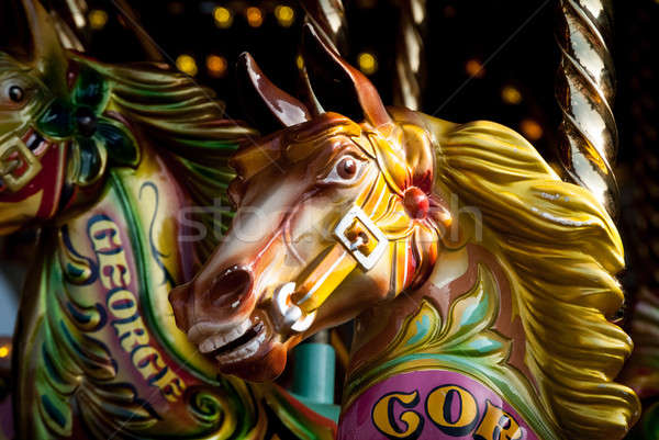 Merry-go-round horse Stock photo © Artlover