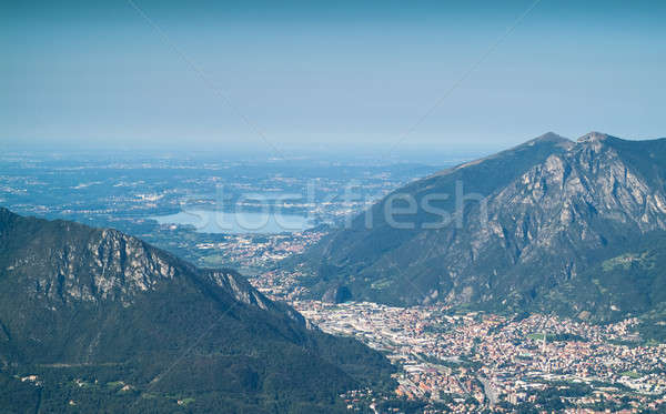 View bella alpi lago panorama bellezza Foto d'archivio © Artlover