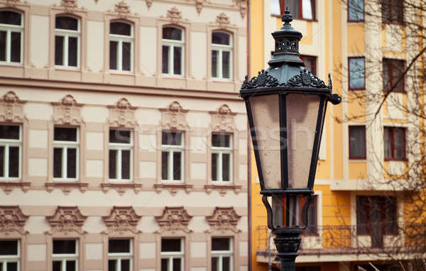 Czech facade Stock photo © Artlover