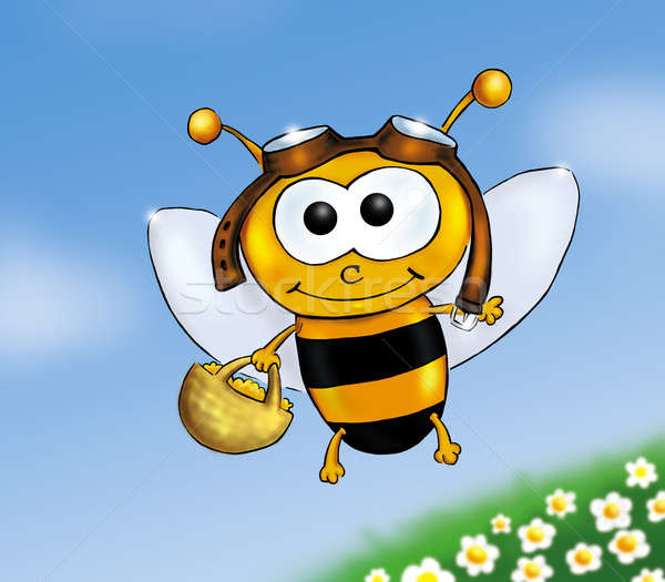 Busy bee Stock photo © Artlover
