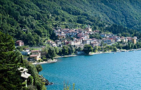 Stok fotoğraf: Göl · görmek · kuzey · İtalya · gökyüzü