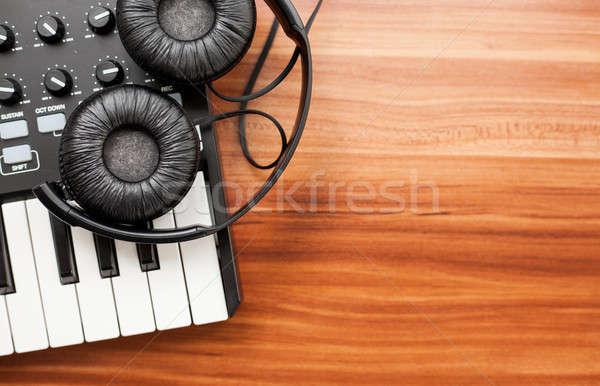 мини домой студию фото клавиатура Сток-фото © Artlover