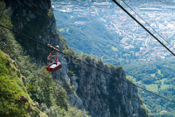 Piani d'Erna Cable Car Stock photo © Artlover