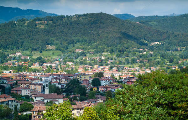 View of Bergamo Stock photo © Artlover