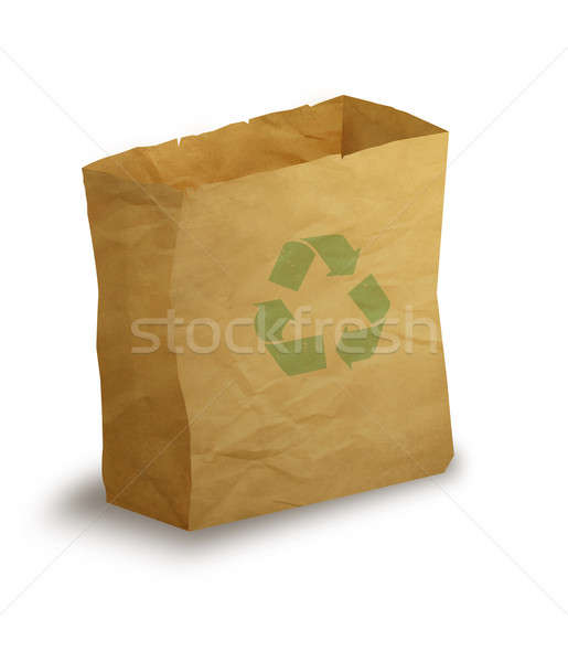 Paper bag Stock photo © Artlover