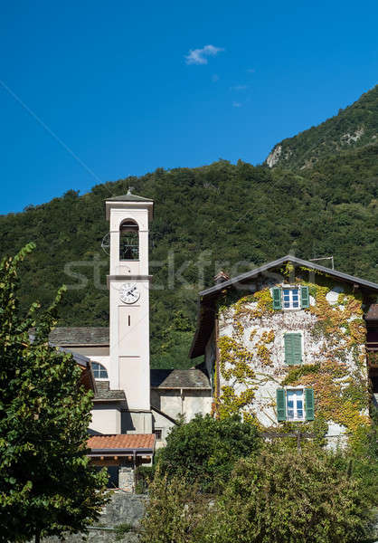 Bell Tower in Italy Stock photo © Artlover