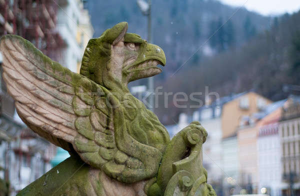 Gargoyle Stock photo © Artlover