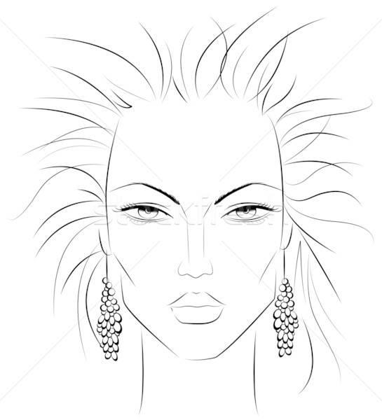 Make-up template v2 Stock photo © Artlover