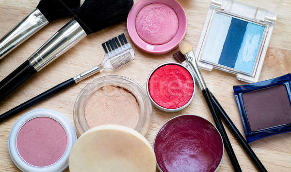 Makeup kit Stock photo © Artlover
