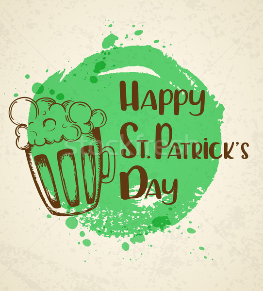 Greeting card for St. Patrick's day Stock photo © Artspace