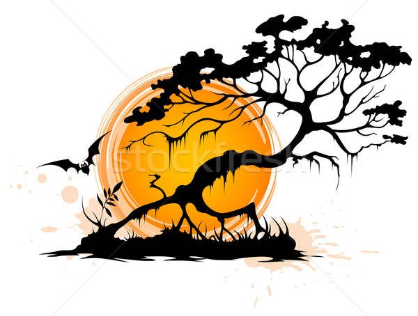 Halloween background Stock photo © Artspace