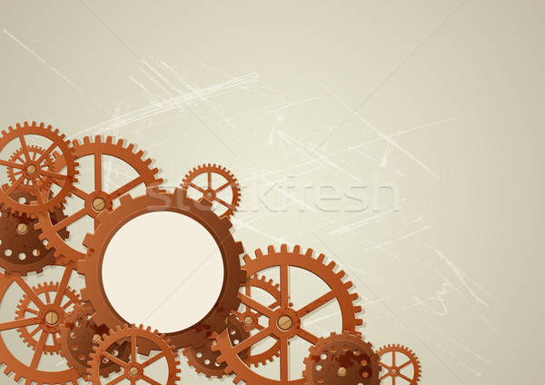 Vector industrial background Stock photo © Artspace