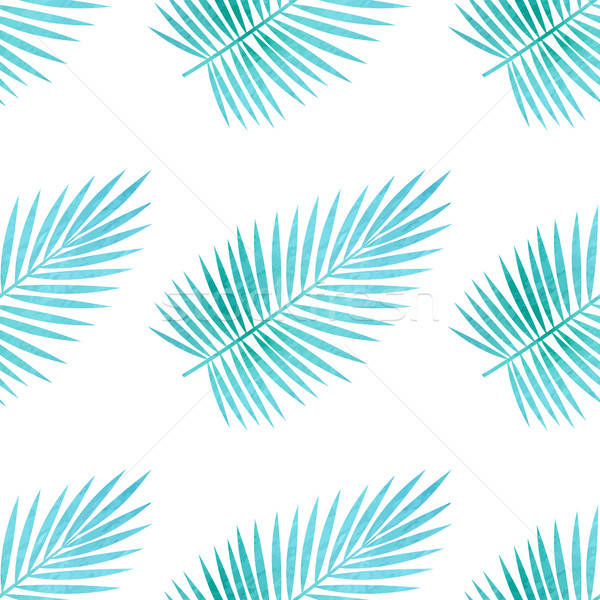 Pattern with palm leaves Stock photo © Artspace