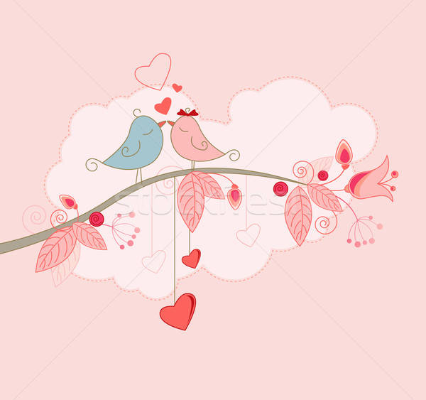 Valentine's Day greeting card  Stock photo © Artspace