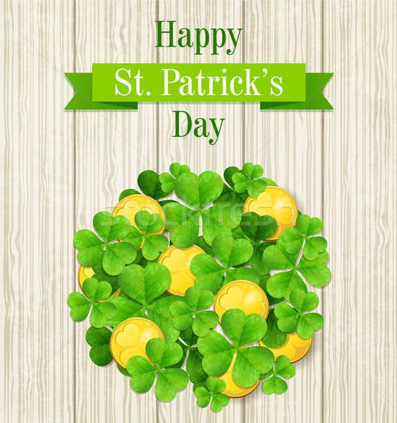 St. Patrick's Day card Stock photo © Artspace