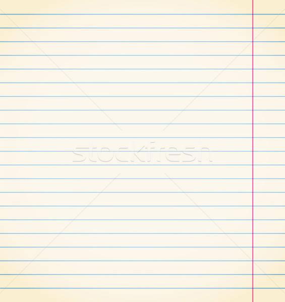 Vector sheet of paper Stock photo © Artspace