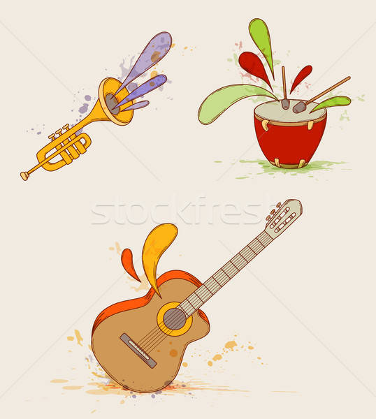Musical instruments Stock photo © Artspace