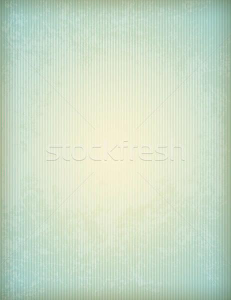 Papel viejo textura tiras vector vintage azul Foto stock © Artspace